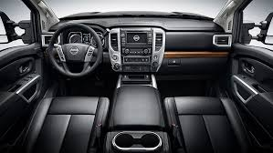 nissan sedan 2016 interior first drive 2016 nissan titan xd