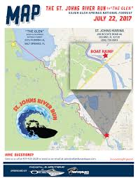 St Johns Florida Map by St John U0027s River Run 2017 U2013 Regal U0026 Nautique Of Orlando