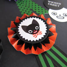 Halloween Printable Paper by Halloween Paper Award Ribbons Printable Paper Craft Fantastic Toys