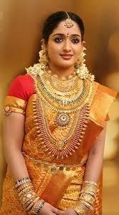 indian jewellery design south kavya madhavan in bridal