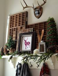 Christmas Decorations For Deer Mounts by Vintage Printers Tray Medium Trays Vintage And Deer Mounts