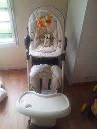 chaise haute transat b b le transat chaise haute achat bébé aurelia35220 photos
