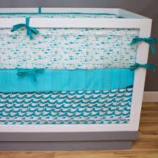 Ocean Baby Bedding Fish Crib Bedding Baby Bedding Ocean Waves Baby Nursery Crib