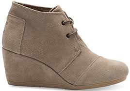 womens desert boots size 9 amazon com toms s desert wedge bootie shoes