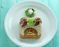 christmas food art beneficial bento