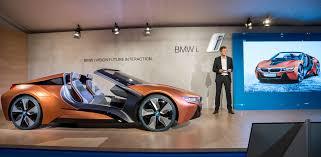 bmw management cars mirror less bmw i8 concept car unveiled at ces 2016