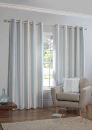 Blue And Striped Curtains 15 Best Collection Of Duck Egg Blue Striped Curtains Curtain Ideas