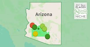 Map Of Greater Phoenix Area by 2017 Safest Suburbs Of Phoenix Area Niche
