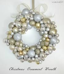 christmas ornament wreath decorchick holidays pinterest