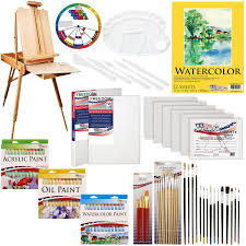 Custom Paint Color Amazon Com Us Art Supply 121 Piece Custom Artist Painting Kit