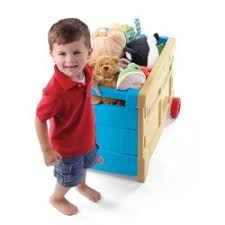 Step2 Lift Hide Bookcase Storage Chest Blue Toy Boxes Step 2 Reviews