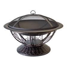 target black friday fire pit uniflame 30 in deep drawn bronze fire pit wad850sp the home depot