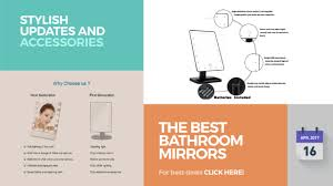 the best bathroom mirrors stylish updates and accessories youtube