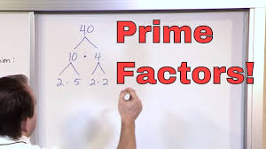 prime factorization 5th grade math finding factors of a number