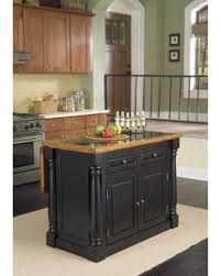 Homestyles Kitchen Island Distressed Monarch Kitchen Island Small With Stools Red Oak Plus