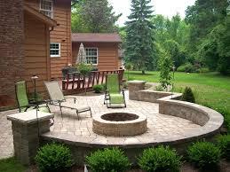 backyard landscaping with pit wonderful backyard landscape ideas with pits landscaping