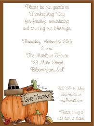 Dinner Party Invitations Thanks Pumpkin Thanksgiving Dinner Party Invitations