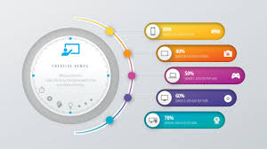 design powerpoint design workflow layout annual report business slide in microsoft