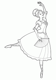 best beautiful ballerina coloring pages for kids womanmate com