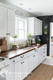 Ideas For Decorating The Top Of Kitchen Cabinets by Decorating Above The Kitchen Cabinets Miss Mustard Seed