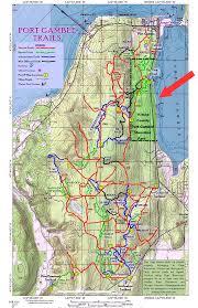 Mt Hood Trail Map Port Gamble Forest Forbidden Forest Trail Loop U2014 Washington