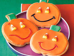 jack o u0027 lantern sugar cookies recipe myrecipes