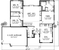 traditional style house plan 3 beds 2 baths 1930 sq ft plan 70