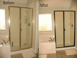 bathroom mirror replacement painting metal shower door frame