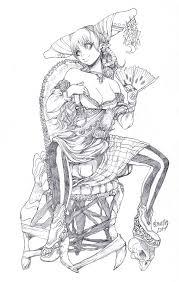 sketch chair by elsevilla on deviantart