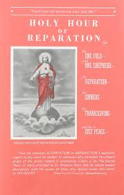 spanish thanksgiving prayer holy hour of reparation to the sacred heart of jesus english