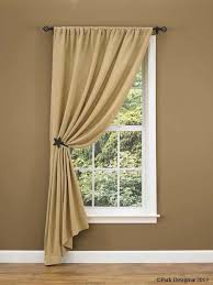 Window Curtains Design Burlap Curtain Ideas Change To Ruffled Top Look For Many
