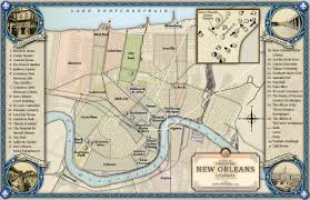 New Orleans City Map by New Orleans Map From Golden Goblin Press U0027 U0027tales Of The Crescent