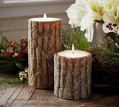 Pottery Barn Pillar Candles 328 Best Candle Light Images On Pinterest Autumn Decorations