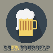 beer yourself beer poster print painting by beautify my walls beer painting beer yourself beer poster print by beautify my walls