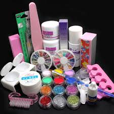 amazon com 21 in 1 pro nail art decorations uv gel kit brush