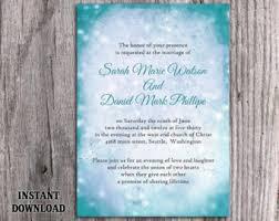 teal wedding invitations teal wedding invites etsy