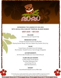 avu avu restaurant experience quality all you can eat family