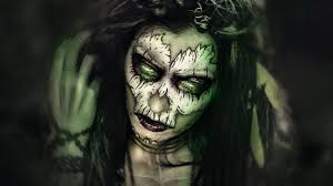 witch doctor and voodoo doll costume voodoo priestess maquillaje halloween ideas sfx makeup tutorial