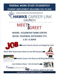 how to write a resume for a government job student employment office monmouth university hcl launch poster