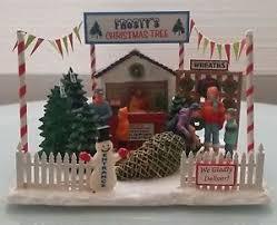 frosty u0027s christmas tree lot lemax christmas village table top