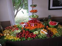 fruit table display ideas wedding fruit displays photo gallery photo of a fruit