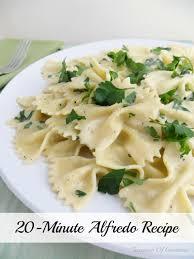 20 minute bow tie alfredo pasta recipe teaspoon of goodness
