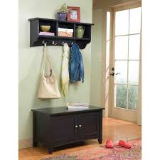 Coat Rack With Bench Seat Entryway Bench With Coat Rack And Storage Image On Marvellous