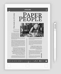 write on paper remarkable the paper tablet