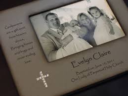 baptism engraved gifts baptism christening photo frame personalized gift for godparents