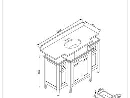 Kitchen Cabinet Specifications Bathroom Standard Bathroom Vanity Depth 38 Enchanting Standard