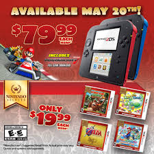 nintendo 2ds price cut new games announced gamespot no caption provided