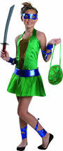 Ninja Halloween Costumes Girls Amazon Teenage Mutant Ninja Turtles Sassy Tween U0027s
