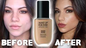 Makeup Forever Airbrush New Makeup For Ever Water Blend Foundation First Impressions
