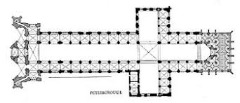 Medieval Cathedral Floor Plan Peterborough Cathedral Wikipedia
